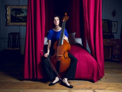 Portrait of Kate Conway, viola da gamba player and Handel House Talent musician for 2017