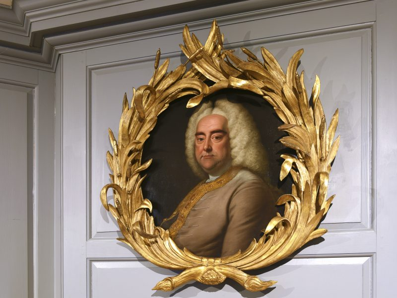 Portrait of Handel by Thomas Hudson