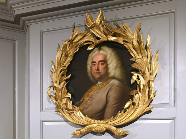 Handel portrait by Thomas Hudson