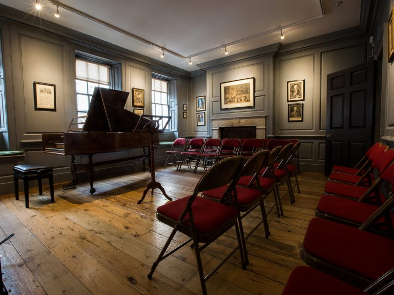 Handel House - intimate concert venue